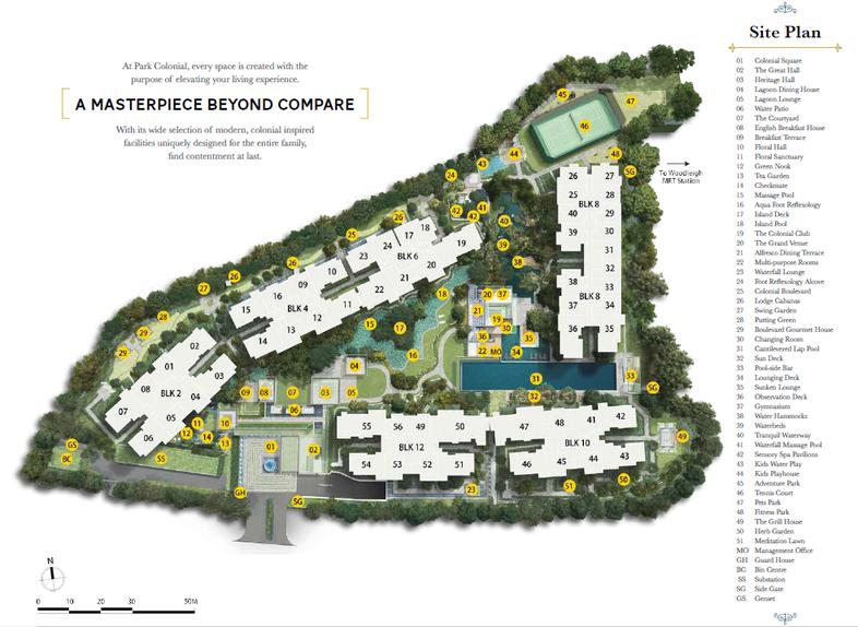 Park Colonial Sitemap