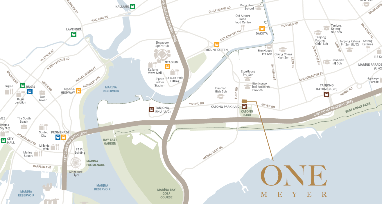 One Meyer Site Map Location