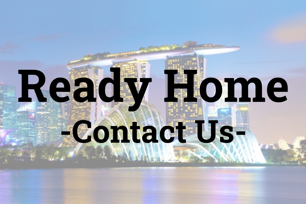 Ready Home - Contact Us Feature Image