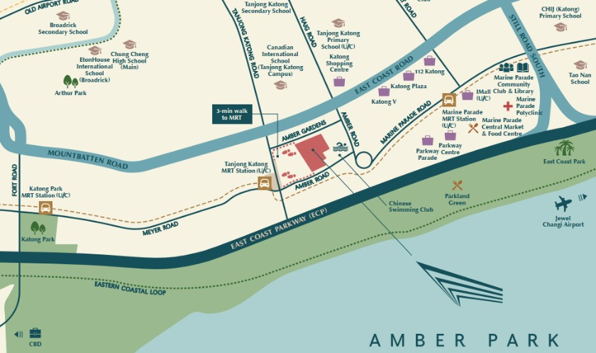 Acquired from one of the biggest enbloc sale, the Amber Park Location