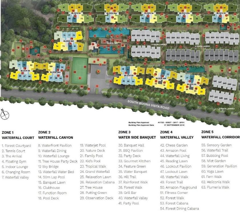 Kent Ridge Hill Residences Sitemap