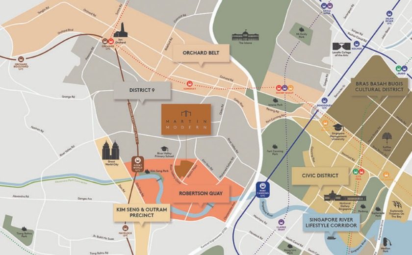 Martin Modern Location Map - Contact us for details on its showflat, site plan, floor plan and price