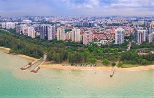 The Sea View Of East Coast Park