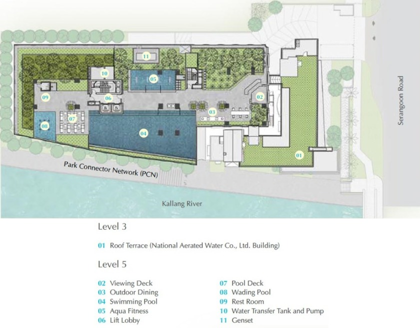 Jui Residences (Floor Area) Site Plan Developments