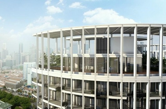 OPB - View Of The Architecture Floor Plan Of Penthouses & Other Residential Units