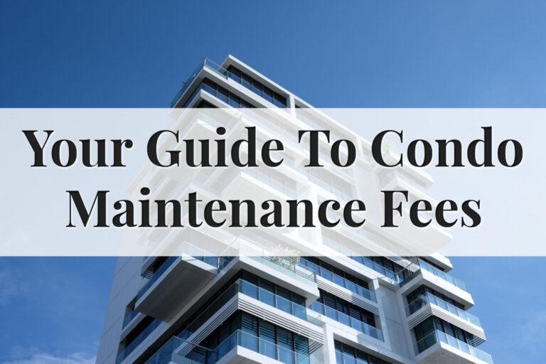 home maintenance fee condo buy condo Singapore - feature image