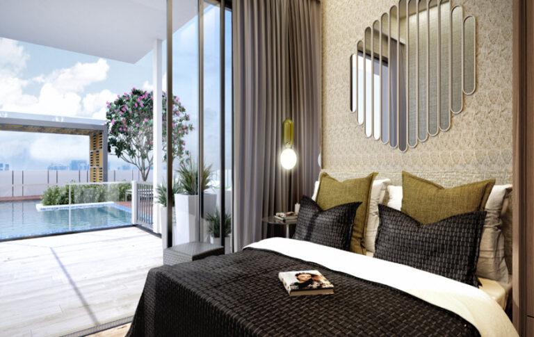 Uptown Bedroom Type Spaces