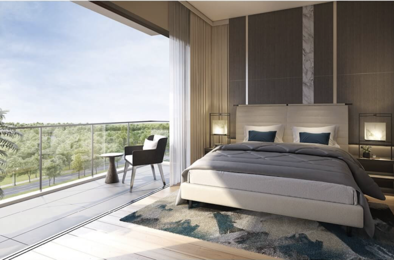 Bedroom Spaces at Woodleigh Residences