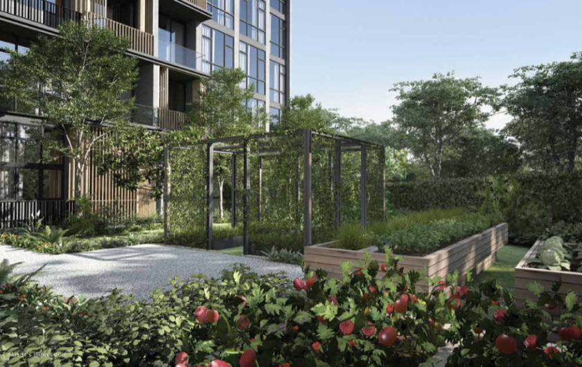 Upper Changi Road Residence with Herb Garden