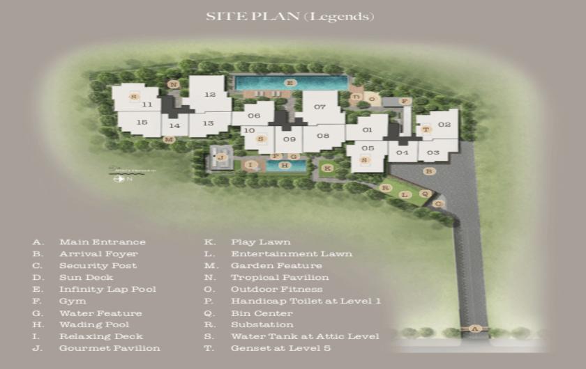 Name 35 Gilstead Developer Site Plan
