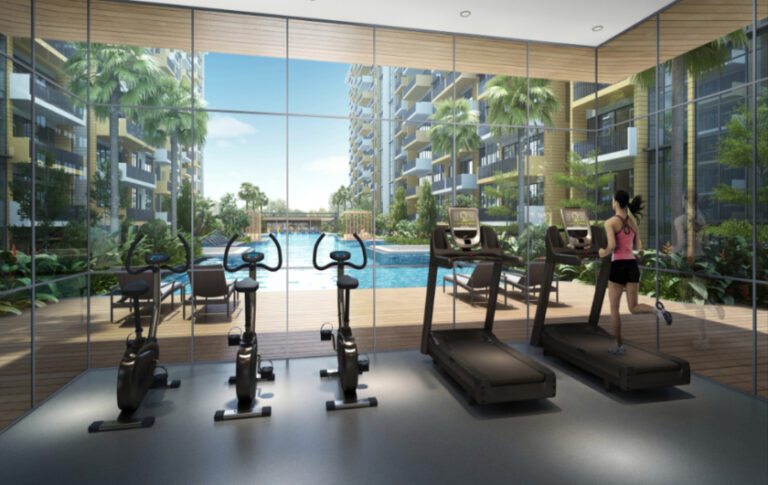 Fitness Area for Active Homeowners