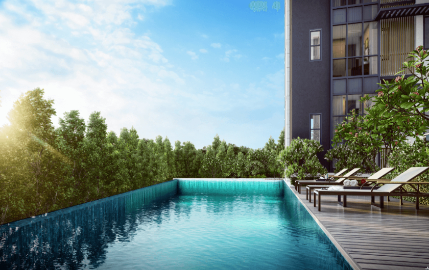 Lap Pool at Gilstead Homes