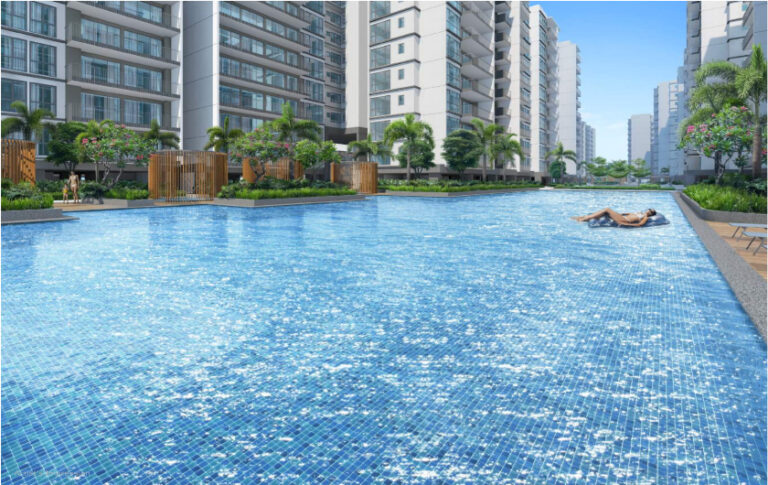Lap Pool Available for Homeowners at the Treasure at Tampines