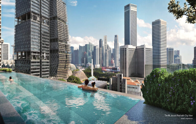 Lap Pool Available for Residents by Wing Tai Holdings