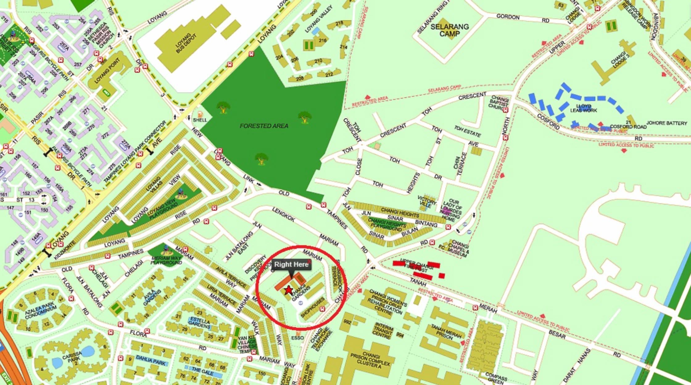 Parc Komo Residences Location Map