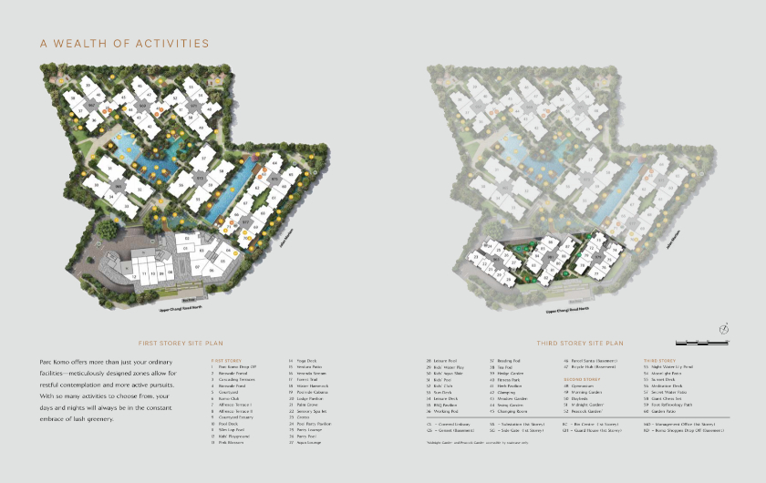 Site Plan for New Condo at Blk 965
