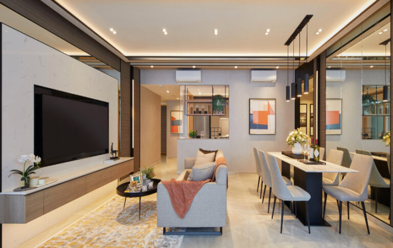 Wide Room Spaces at Penrose Residential