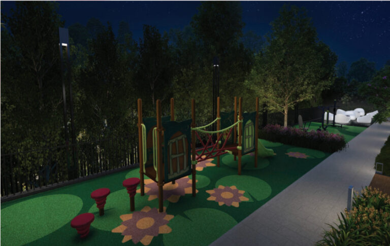 Children's Area at New District 19 Condo