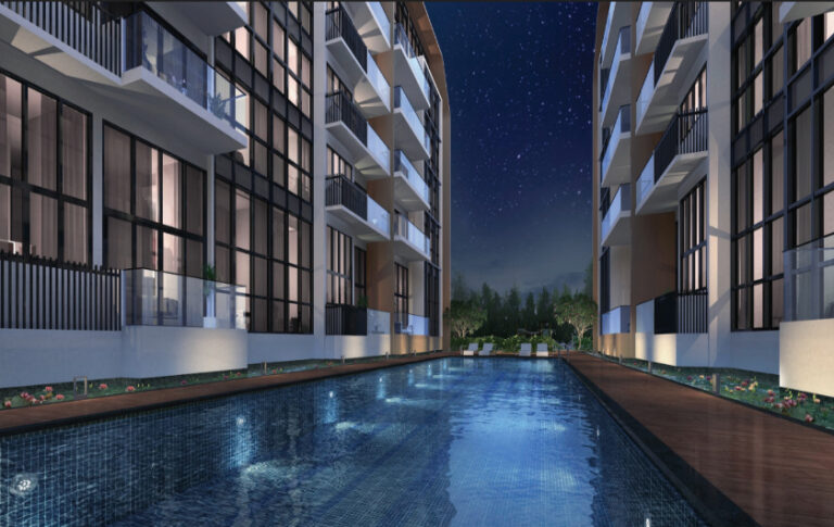 Wide Pool Area for Homeowners at the Lilium