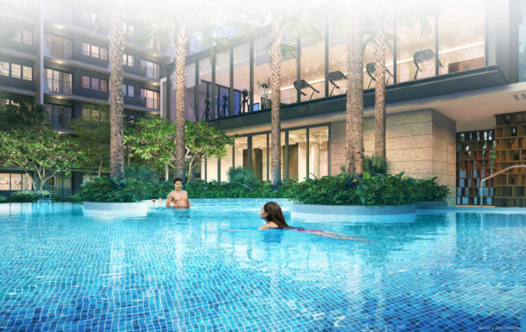 Pool for 1 Serangoon North View Condo Homeowners