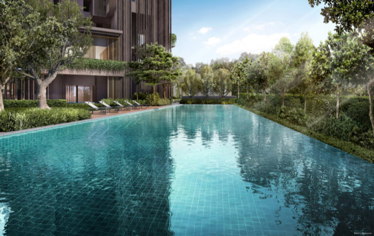 36-Storey Condo with Wide Pool Area