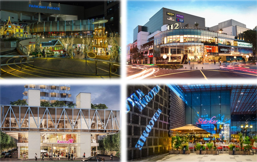 Shopping Malls Nearby New Amber Condo