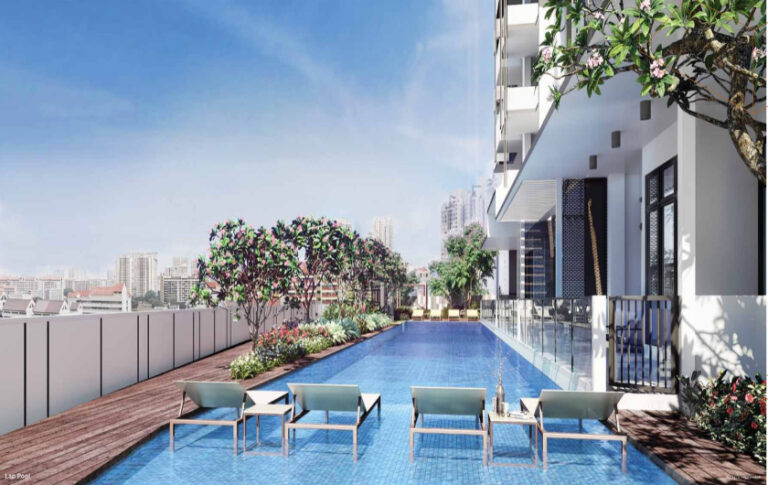 Lap Pool Available for Uptown @ Farrer Residents