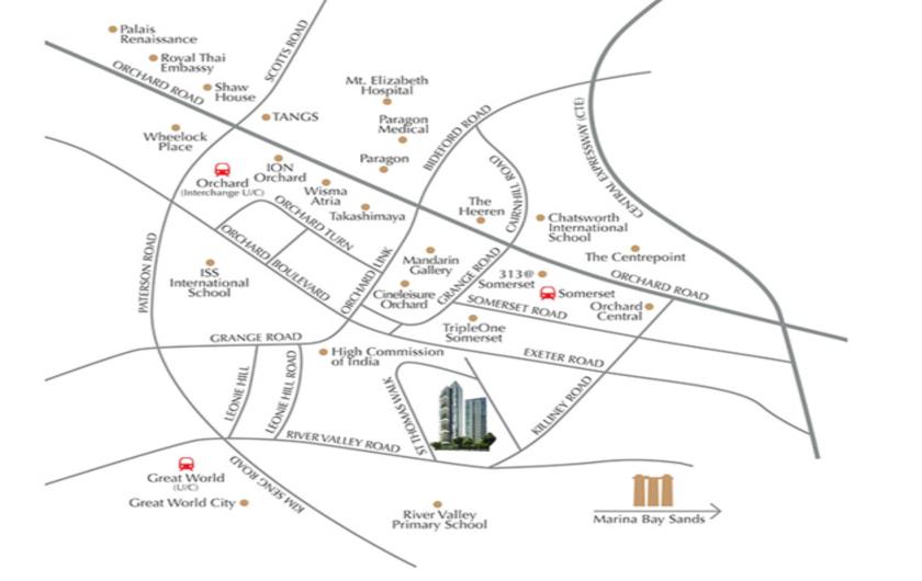 Thomas 8 St Location Map