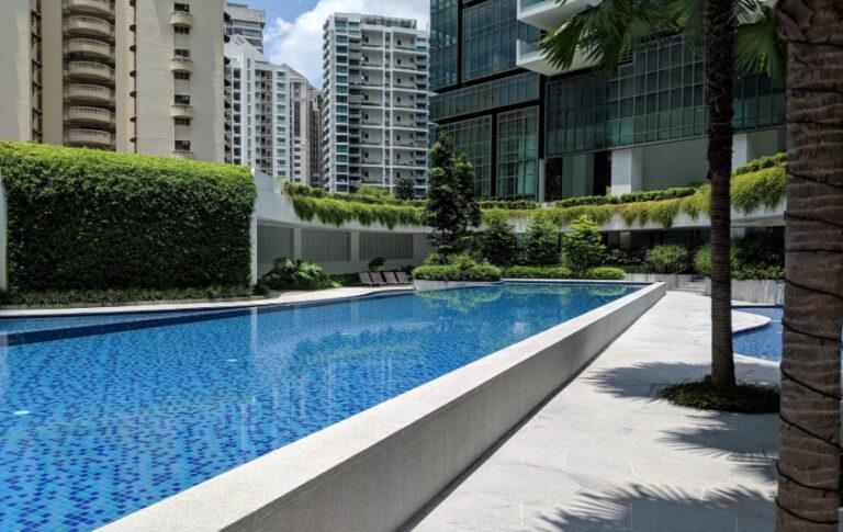 Singapore Development Properties with Lap Pools