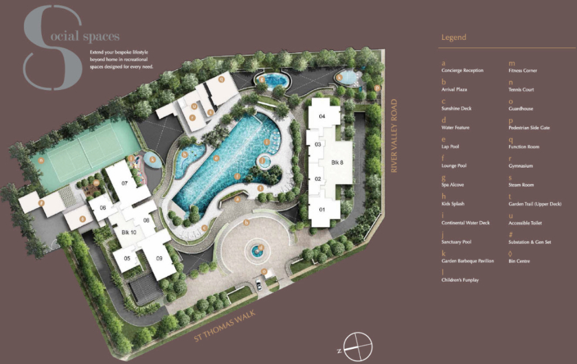 8 St Thomas Site Development Plan