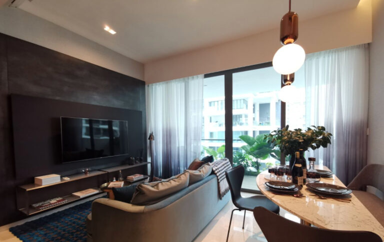 Singapore Home Condo with 2-bedroom Unit