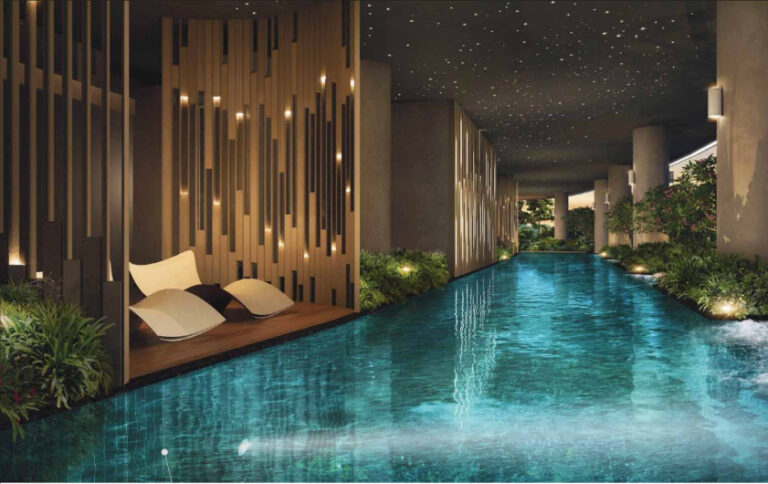 New Condo Launch at District 14 with Big Pool Area