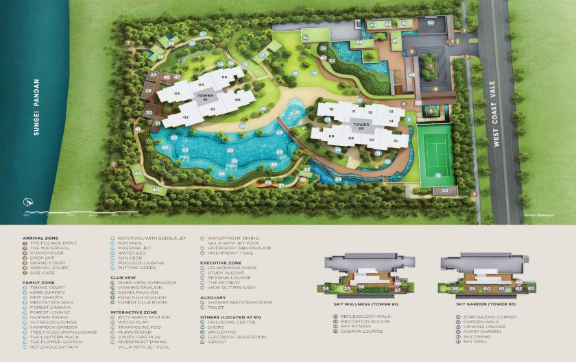 New Condominium in West Coast Vale Provides Wide Land Parcel
