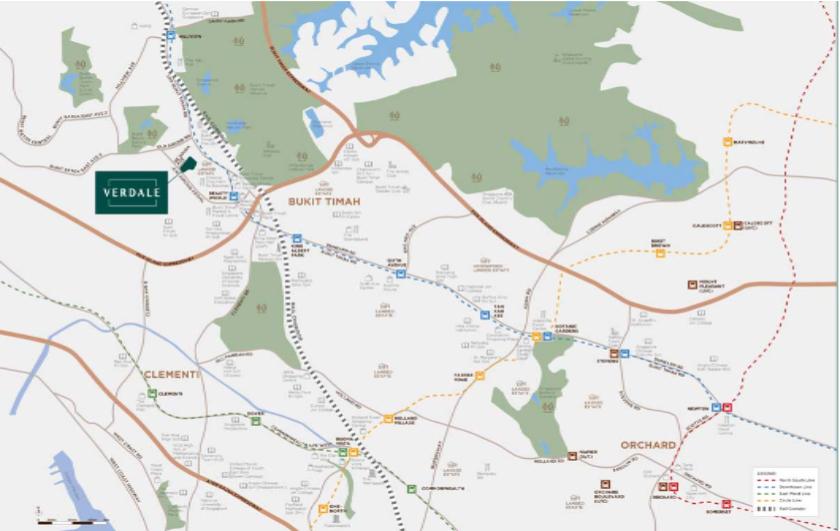 Verdale Condominium Singapore Land Parcel