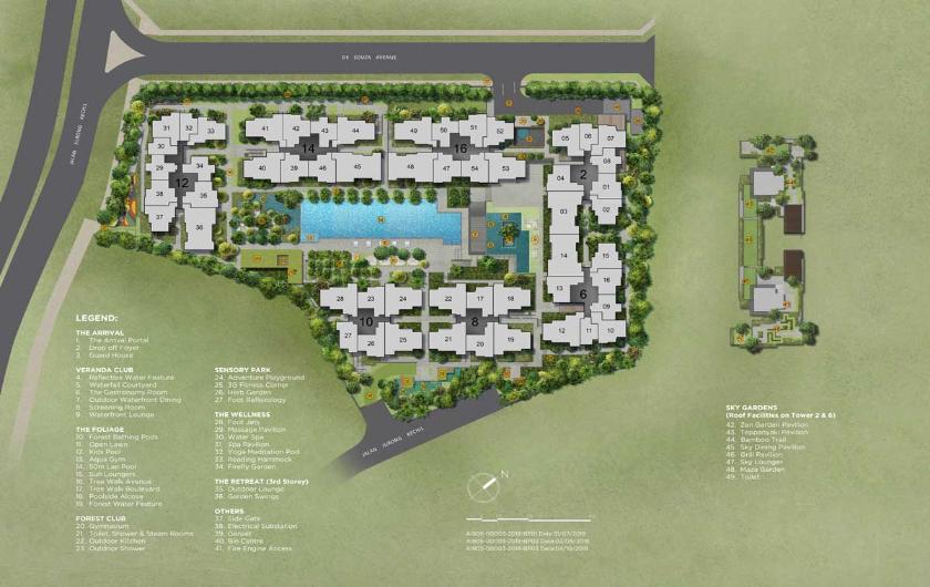 New Verdale Condominium with 258 Units