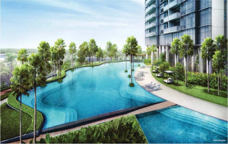 Twin Vew Condominium with Lap Pool Area