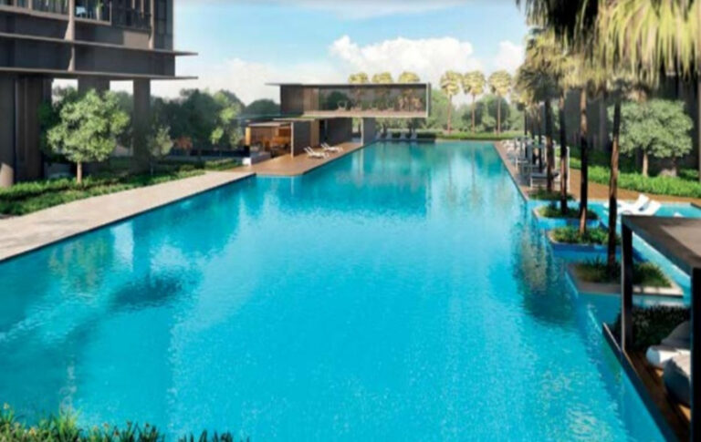 Quality facilities management with swimming pool