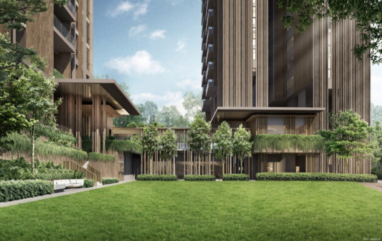 Singapore Condo with 493,222 sq. ft Space