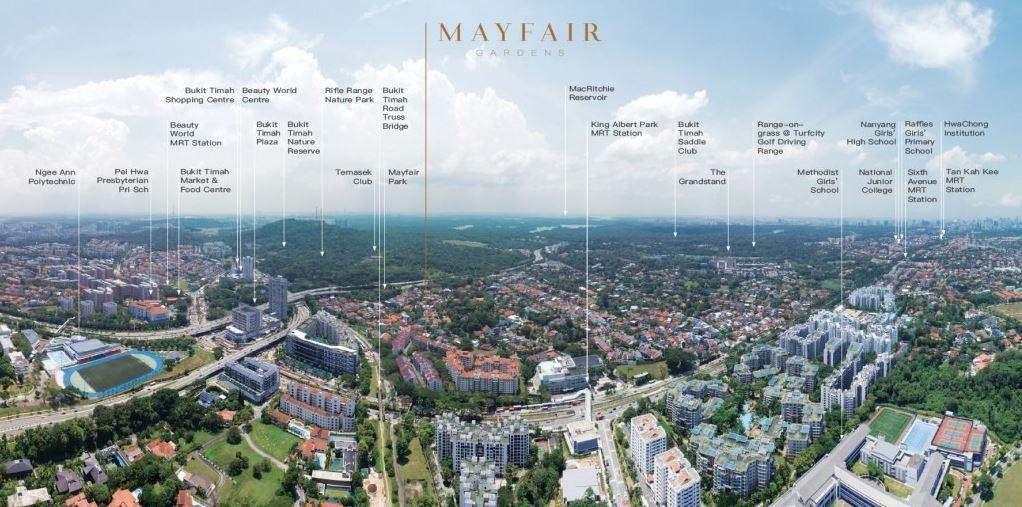 Mayfair Gardens Convenient Location Near Mrt Station