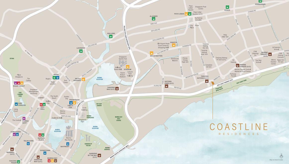 Coastline Residences 9 Amber Road Condo Sale Price