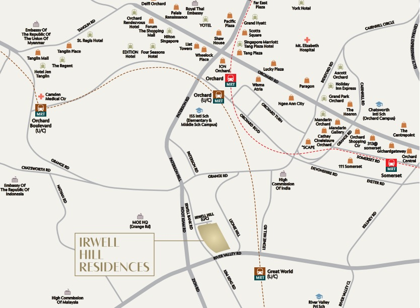 Developer Sales team for Irwell Hill Residences