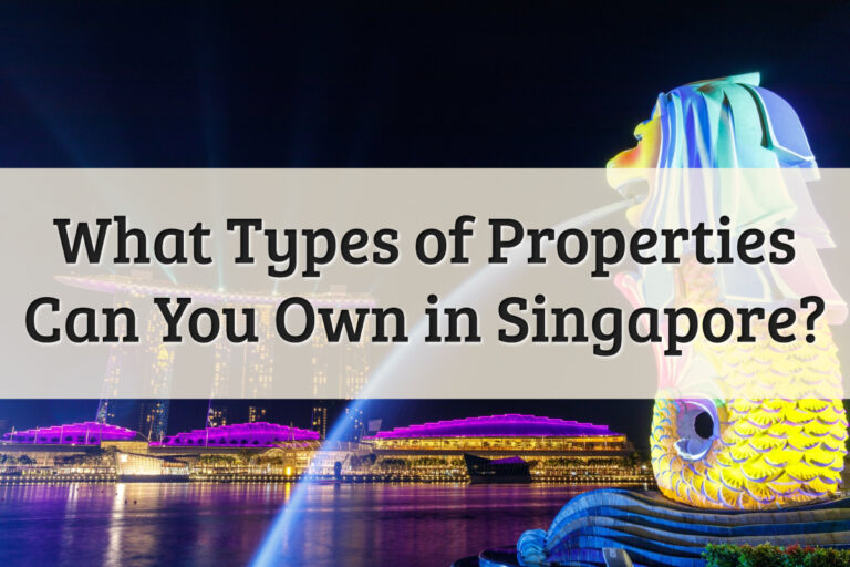 Type of Singapore Properties Feature Image
